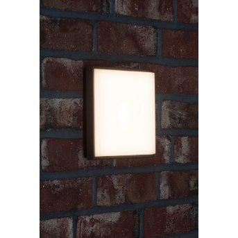 AEG Letan Square Zewnętrzny kinkiet LED Antracytowy, Biały, 1-punktowy