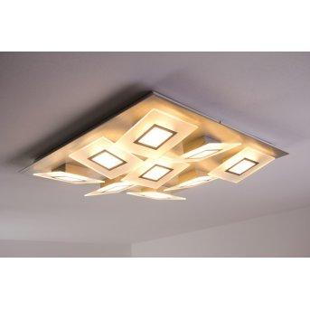 Bopp FRAME lampa sufitowa LED Aluminium, 9-punktowe