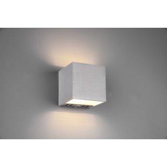 Trio Figo Lampa ścienna LED Aluminium, 1-punktowy, Zdalne sterowanie, Zmieniacz kolorów