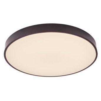 Lampa Sufitowa Brilliant Slimline LED Czarny, Biały, 1-punktowy