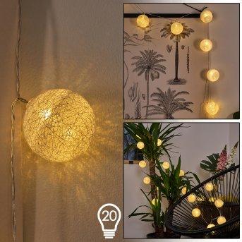 Sondrio Łańcuch  świetlny LED, 20-punktowe