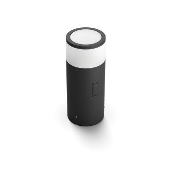 Philips Hue Ambiance White & Color Calla oświetlenie ścieżek zestaw rozszerzony LED Czarny, 1-punktowy, Zmieniacz kolorów