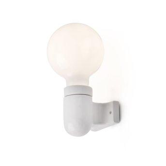 Faro Barcelona Sera Lampa ścienna Biały, 1-punktowy