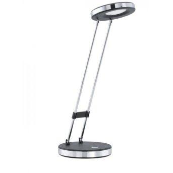 Eglo GEXO Lampa stołowa LED Chrom, Czarny, 1-punktowy