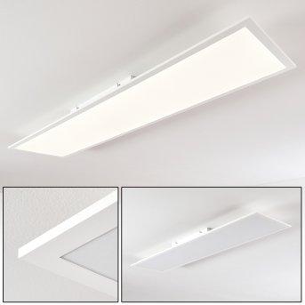 Antria Lampa Sufitowa LED Biały, 1-punktowy
