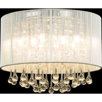 Globo Sierra Lampa Sufitowa LED Chrom, 8-punktowe