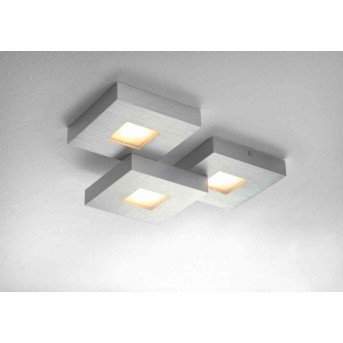 Bopp CUBUS lampa sufitowa LED Aluminium, 3-punktowe