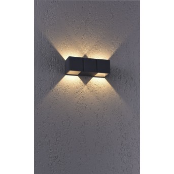 Paul Neuhaus MARCEL Lampa ścienna LED Antracytowy, 2-punktowe