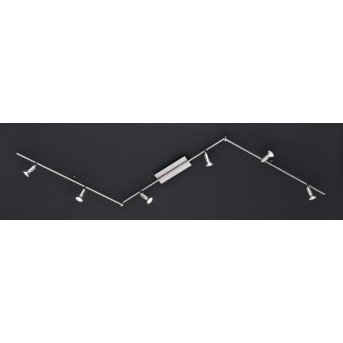 Wofi NINI Lampa Sufitowa LED Nikiel matowy, 6-punktowe