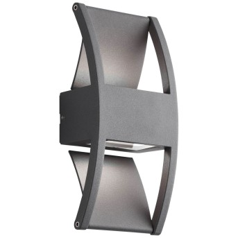 AEG Elroy Zewnętrzny kinkiet LED Antracytowy, 2-punktowe