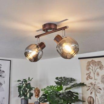 Arconciel Lampa Sufitowa Brązowy, 2-punktowe