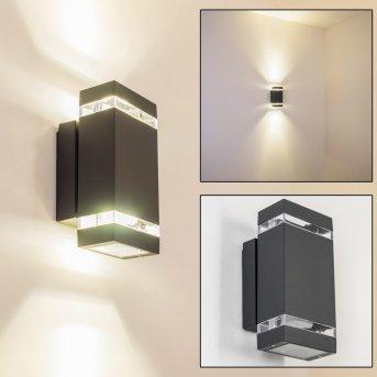 Lutak zewnętrzny kinkiet LED Antracytowy, 2-punktowe