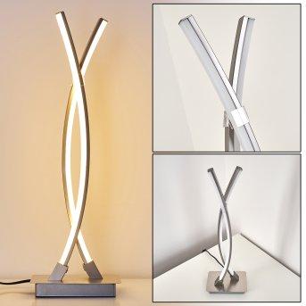 Horpmaal Lampa stołowa LED Nikiel matowy, 2-punktowe