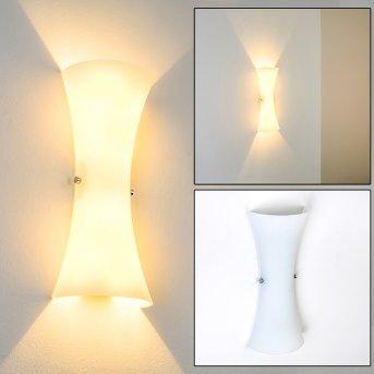 Lampa ścienna Zimbo Chrom, 2-punktowe
