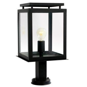 KS Verlichting De Vecht Lampa na cokół Czarny, 1-punktowy