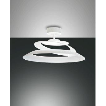 Fabas Luce Aragon Lampa Sufitowa LED Biały, 1-punktowy