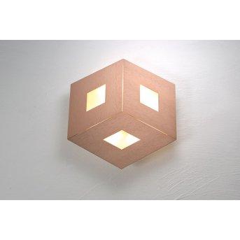 Bopp-Leuchten BOX COMFORT Lampa Sufitowa LED Złoty, Różowy, 3-punktowe