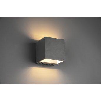 Trio Figo Lampa ścienna LED Czarny, 1-punktowy, Zdalne sterowanie, Zmieniacz kolorów