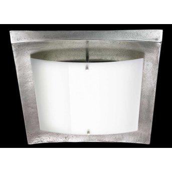 Fischer Shine Alu lampa sufitowa LED Nikiel matowy, 1-punktowy