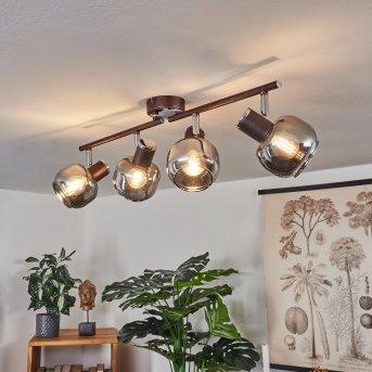 Arconciel Lampa Sufitowa Brązowy, 4-punktowe