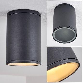 Agua Lampa Sufitowa Czarny, 1-punktowy