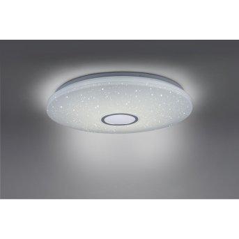Leuchten Direkt JONAS Lampa Sufitowa LED Biały, 1-punktowy, Zdalne sterowanie