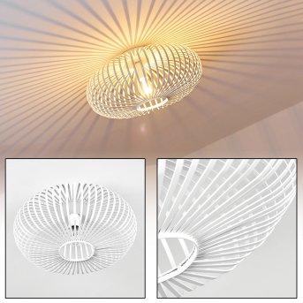 Lepa Lampa Sufitowa Biały, 1-punktowy