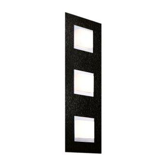 Grossmann BASIC Oświetlenie ścienne i sufitowe LED Czarny, 3-punktowe