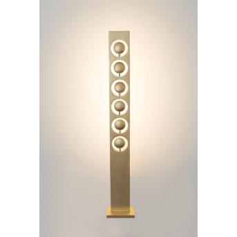 Holländer TENACIA Lampa Stojąca LED Złoty, 6-punktowe