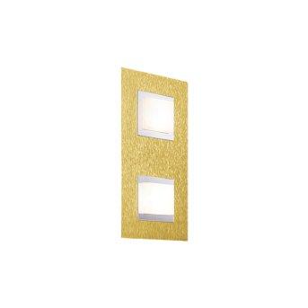 Grossmann BASIC Oświetlenie ścienne i sufitowe LED Mosiądz, 2-punktowe