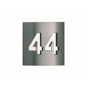 Albert 976 numer domu Stal nierdzewna