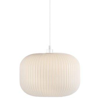 Nordlux MILFORD Lampa Wisząca Biały, 1-punktowy