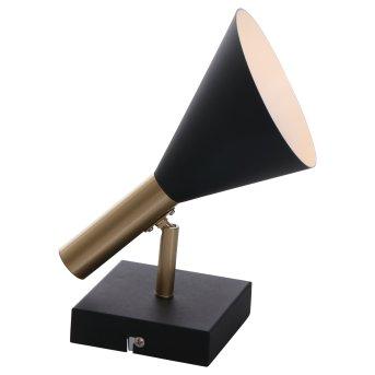 Steinhauer Anne's choice Lampa ścienna LED Mosiądz, Czarny, 1-punktowy