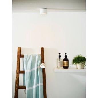 Lucide LILY lampa sufitowa na zewnątrz Biały, 1-punktowy