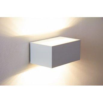 Lutec By Eco Light zewnętrzny kinkiet LED Biały, 1-punktowy