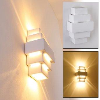 Tokio Lampa ścienna Biały, 1-punktowy