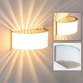 PESARO Lampa ścienna Nikiel matowy, 1-punktowy