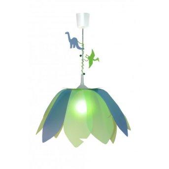 Waldi Dinosaurier lampa wisząca Zielony, 1-punktowy