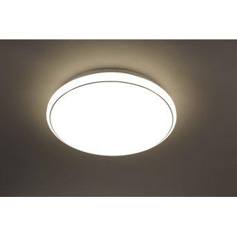 Leuchten Direkt JUPITER Lampa Sufitowa LED Biały, 1-punktowy, Zdalne sterowanie