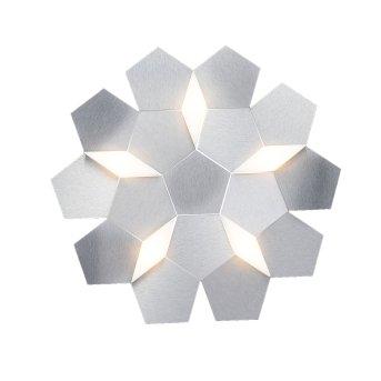 Grossmann Karat Lampa ścienna LED Aluminium, 5-punktowe