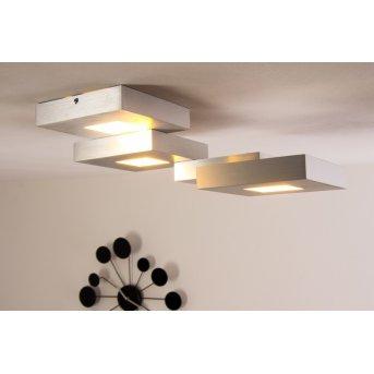 Bopp CUBUS lampa sufitowa LED Aluminium, 4-punktowe