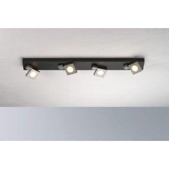 Bopp Flash Lampa Sufitowa LED Czarny, Antracytowy, 4-punktowe