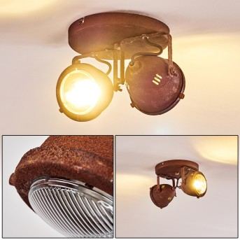 Lampa Sufitowa Glostrup LED Rudy, 2-punktowe