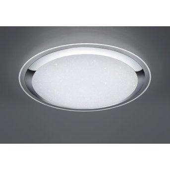 Trio MIKO Lampa Sufitowa LED Biały, 1-punktowy, Zdalne sterowanie