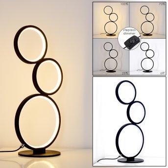 Rodekro Lampa stołowa LED Czarny, 1-punktowy