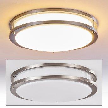 Sora Lampa Sufitowa LED Nikiel matowy, 1-punktowy