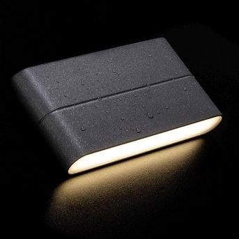 AEG TELESTO Zewnętrzny kinkiet LED Antracytowy, 1-punktowy