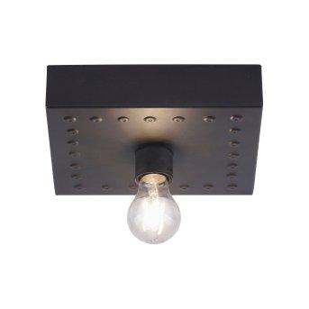 Lampa Sufitowa Leuchten Direkt SAMIA Czarny, 1-punktowy
