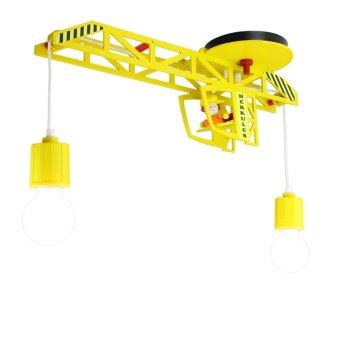 Elobra MARKUS Lampa Sufitowa Żółty, 2-punktowe
