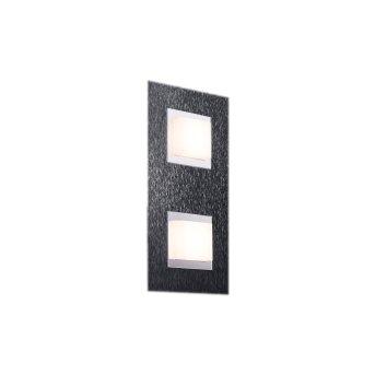 Grossmann BASIC Lampa Sufitowa LED Antracytowy, 2-punktowe